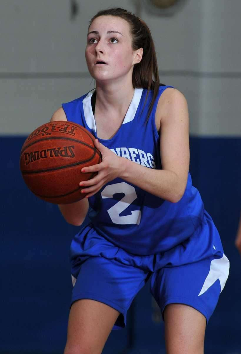 Kellenberg senior point guard Nicole Trepata (2) takes