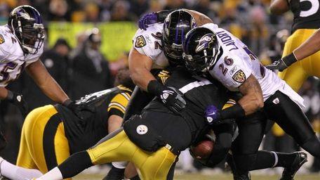 Quarterback Ben Roethlisberger #7 of the Pittsburgh Steelers