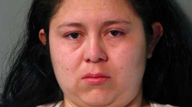 Jeymi Guerra Cordova, of Hempstead, is charged with