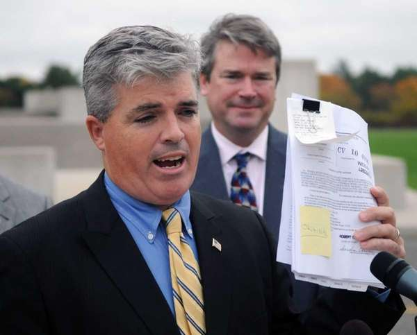 Town of Babylon supervisor Steve Bellone. (Oct. 26,