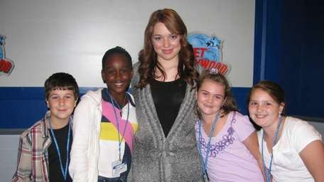 Actress Jennifer Stone, who plays Harper on the