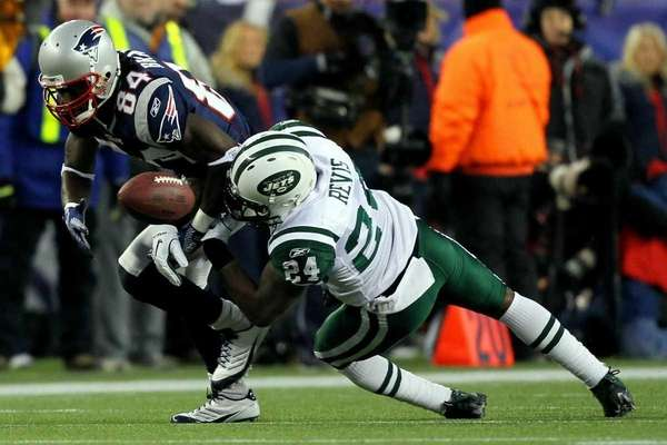 Darrelle Revis #24 of the New York