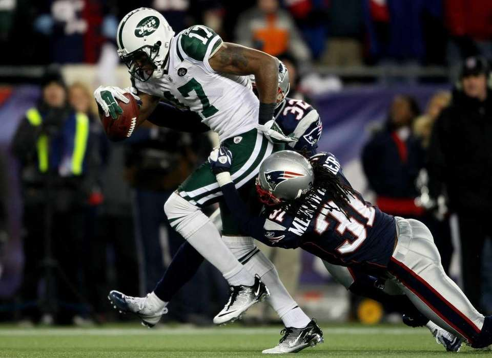 Braylon Edwards #17 of the New York Jets