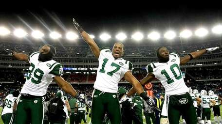 In his first season with the Jets, Holmes
