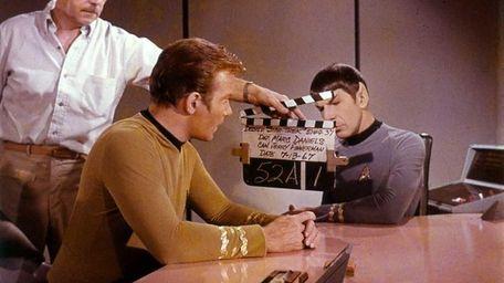 William Shatner as Kirk and Leonard Nimoy as