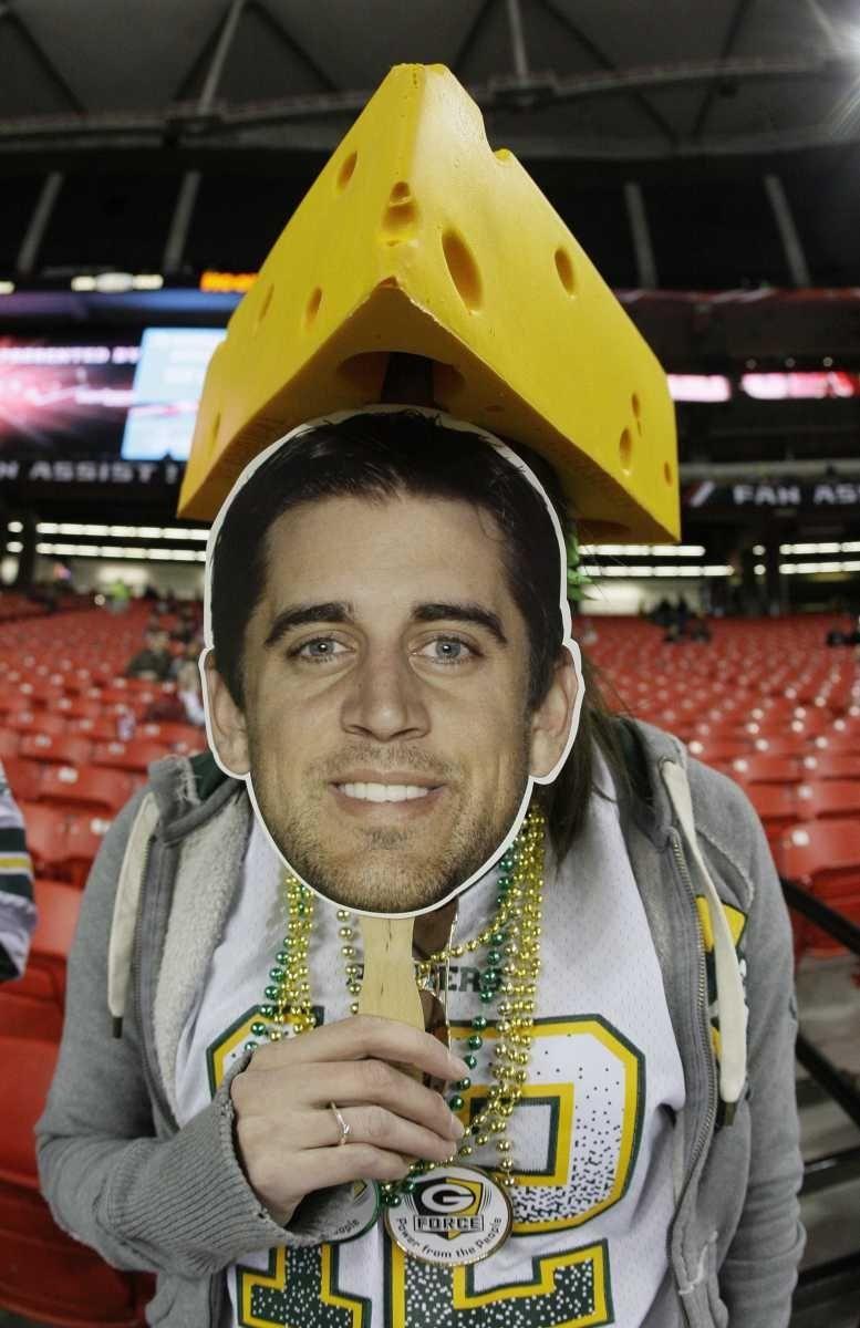 Green Bay Packers fan Amy Staniforth of Shawno,