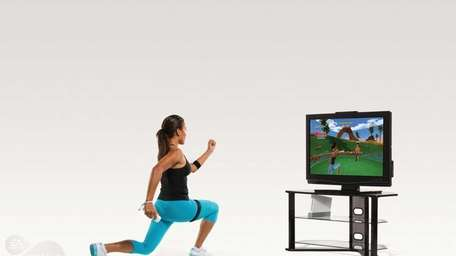 Screengrab from video game : EA SPORTS Active