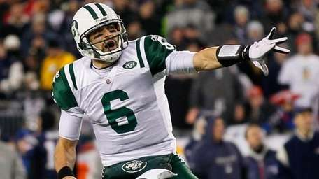 7) MARK SANCHEZ IS CONFIDENT AFTER BEATING THE