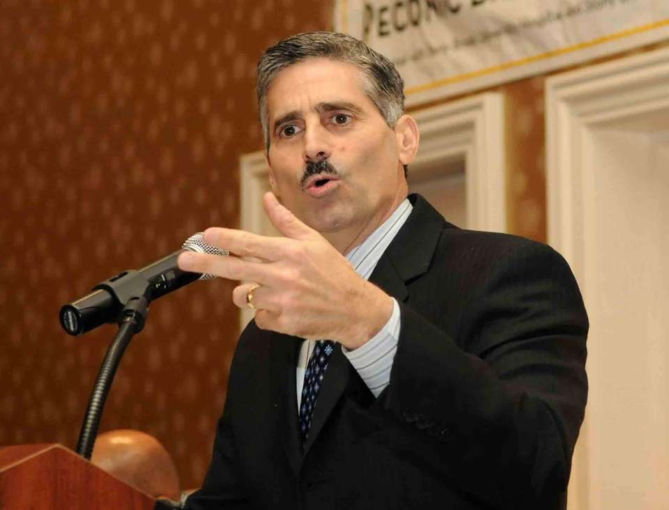 A file photo of Suffolk County Executive Steve