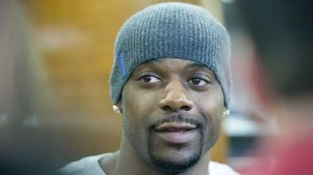 FILE - Jets wide receiver Jerricho Cotchery speaks