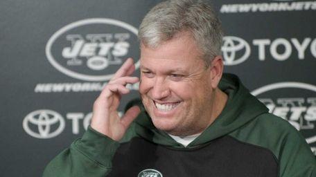 1/17/11, Florham Park: New York Jets coach Rex