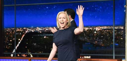 """Sen. Kirsten Gillibrand during Tuesday's taping of """"The"""
