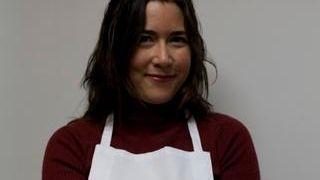 Fresh Direct's Leitha Matz shows off the season's