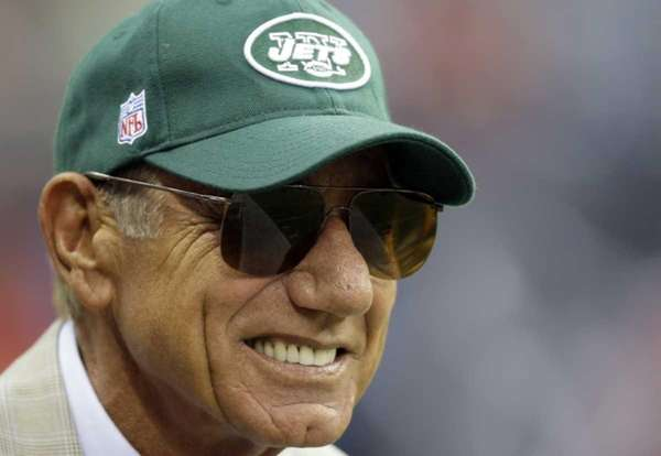 Former Jets quarterback Joe Namath doesn't like the