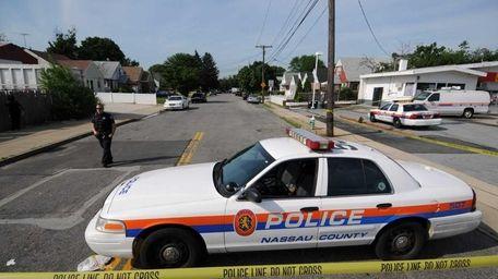 A file photo of a Nassau police car