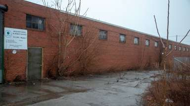 The former Jackson Steel manufacturing site in Mineola