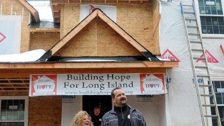 James and Christine Shaljian celebrate their new home