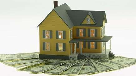 Mortgage photo illustration