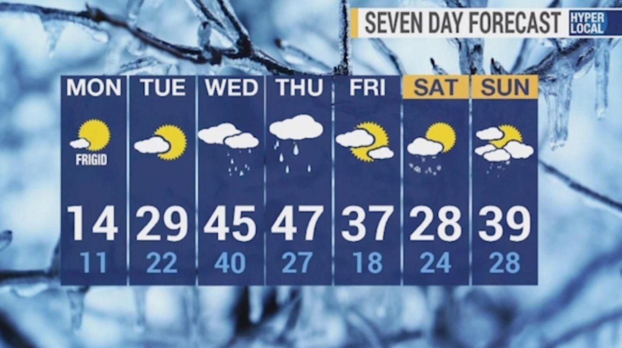 News 12 Long Island meteorologist Rich Hoffman described