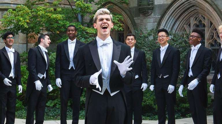 Yale University's Whiffenpoofs, the world's oldest collegiate a-cappella