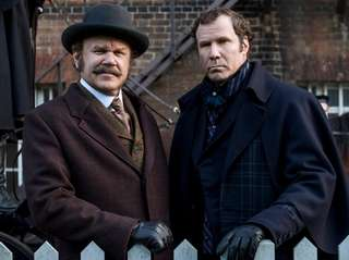 John C. Reilly, left, and Will Ferrell in