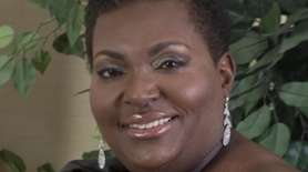 Cynthia Perkins-Roberts, of Westbury, a television executive who