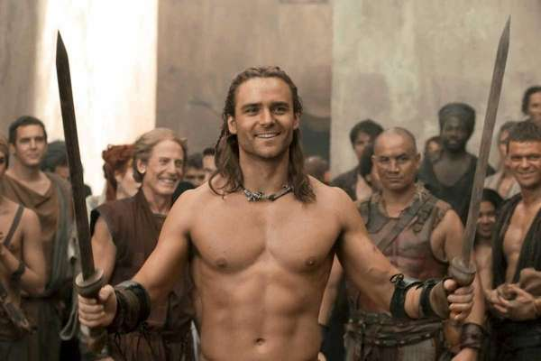 -Dustin Clare as Gannicus in