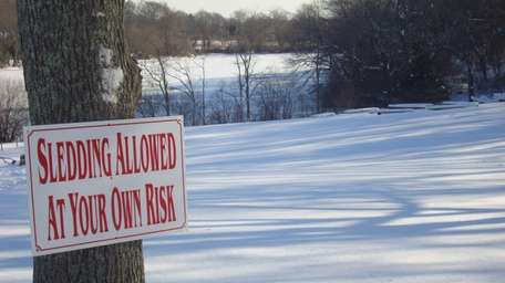Sledders can once again enjoy the hills at