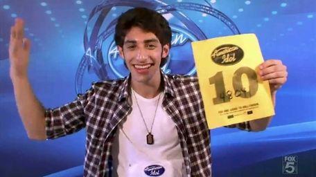 Robbie Rosen from Merrick auditioned for season 10