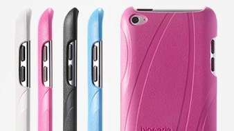 Bioserie iPod Touch Case available in 4 colors.