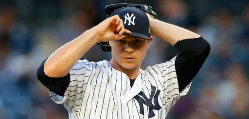 Sonny Gray in the first inning against Oakland