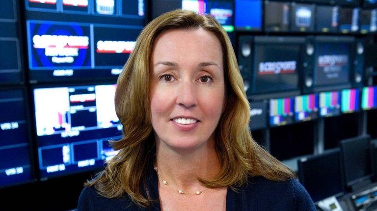CBS Sports executive vice president Patty Power.