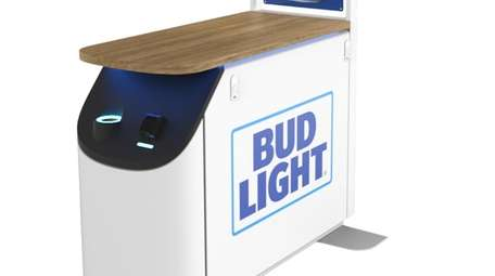BeerBox, the vending machine developed by Intelligent Product