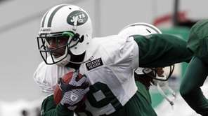 New York Jets wide receiver Jerricho Cotchery (89)