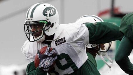 New York Jets wide receiver Jerricho Cotchery (89)
