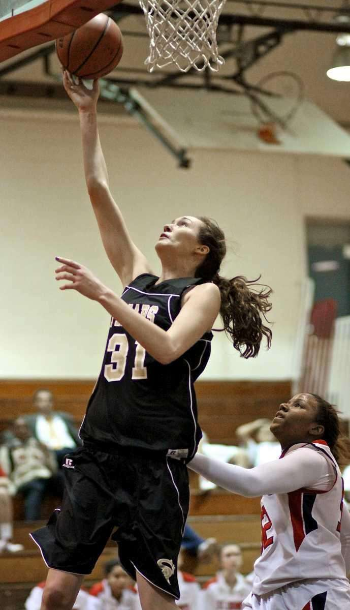 St. Anthony's forward Michele Impellizeri #31 puts up