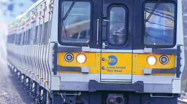 A broken rail near New Hyde Park caused