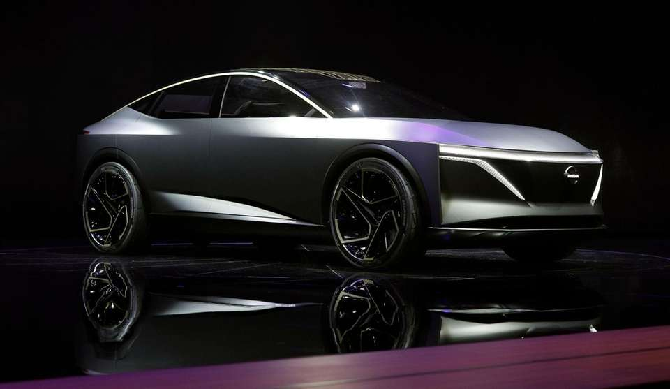 The Nissan IMS Concept vehicle is revealed at