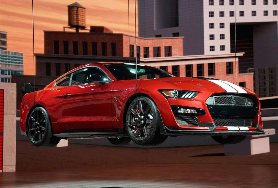 The 2020 Ford Mustang Shelby GT500 is unveiled