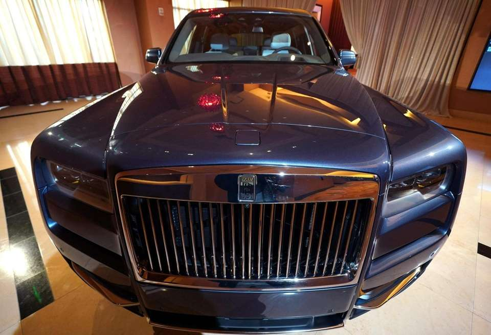 The first SUV made by Rolls-Royce, the Rolls-Royce