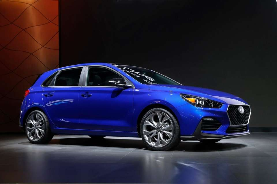 The Hyundai Elantra GT N Line debuts during