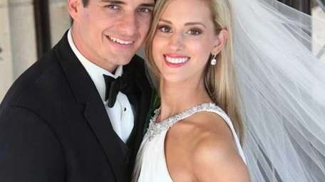 Danielle Bruno and Robert Altieri wedding portrait taken