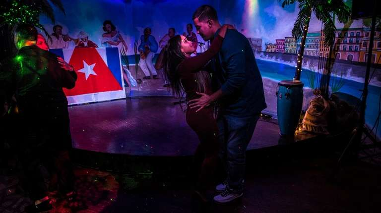 Dancers find a Cuban beat during the Tropicana