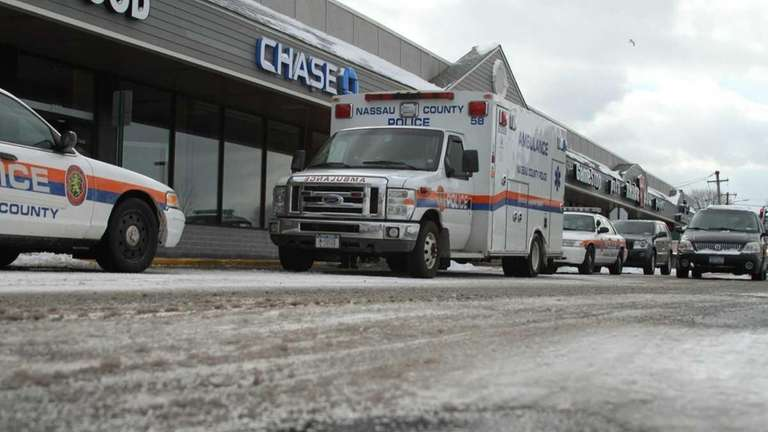 January 21 ,2011: Hicksville, NY, Two occupants of