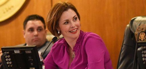 Councilwoman Erin King Sweeney, seen here in October