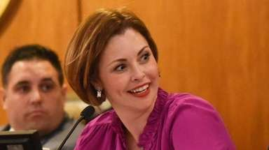 Councilwoman Erin King Sweeney, seen here in October