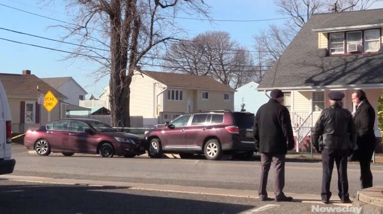 A man was shot dead Tuesday in Amityville