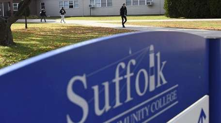 A new policy at Suffolk County Community College