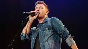 Scotty McCreery performs at the 2018 Nashville Songwriter