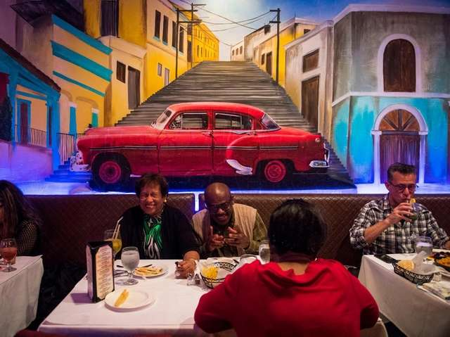 Tropicana show and dinner time at The Cuban